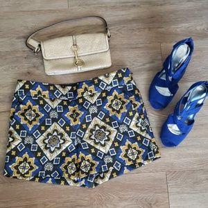 Loft tapestry shorts-Elegant NWT